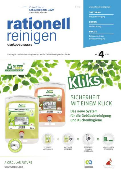 Cover rationell reinigen 4/2020