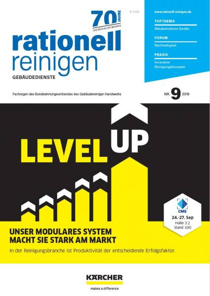 Cover rationell reinigen 9/2019