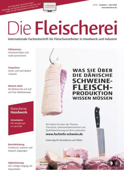 Cover Die Fleischerei 4/2020