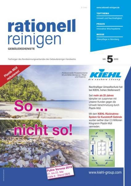 Cover rationell reinigen 5/2019