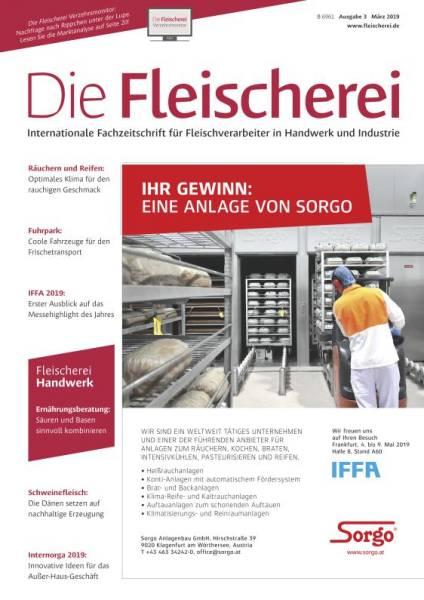 Cover Die Fleischerei 3/2019