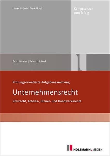cover_Prüfungsorientierte_Aufgabensammlung_Unternehmensrecht