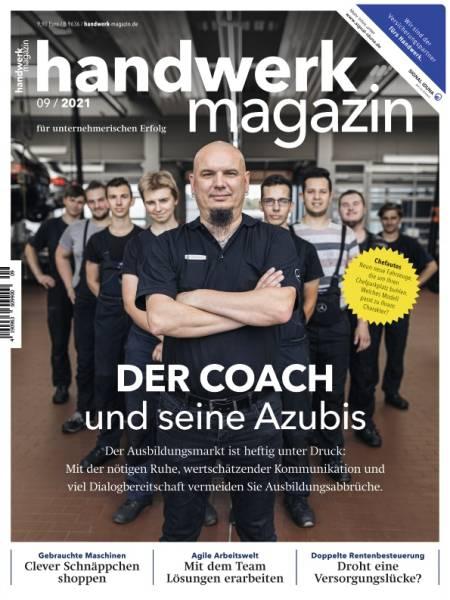 handwerk magazin - Ausgabe 9/2021 - digital