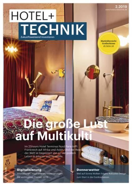 Cover HOTEL+TECHNIK 2/2019