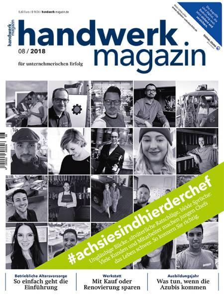 cover_handwerk-magazin_8/2018