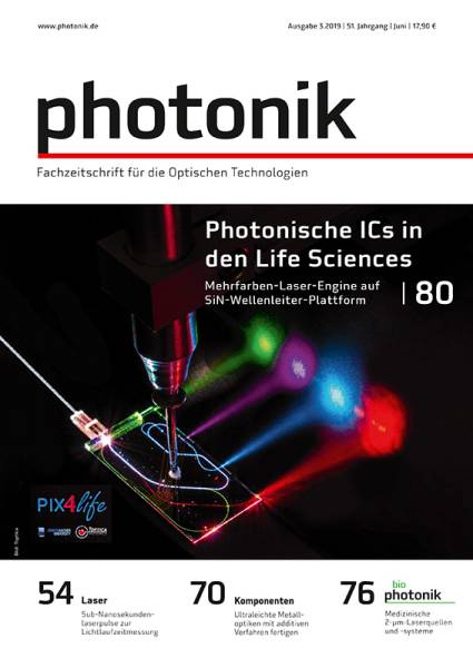 Cover photonik 3/2019