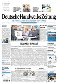 Deutsche Handwerks Zeitung Jahresabo