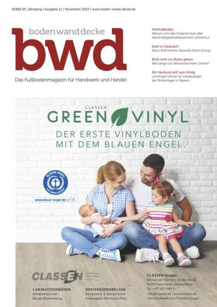 Cover bwd 11/2019 digital