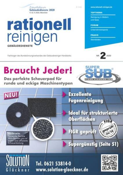 Cover rationell reinigen 2/2020