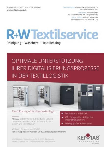 Cover R+WTextilservice 6/2019