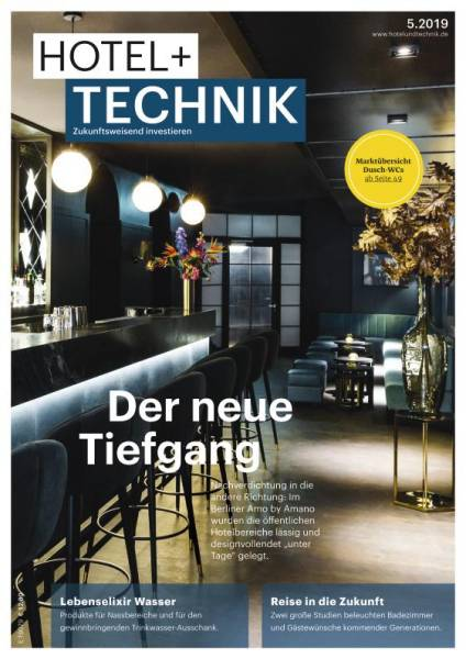Cover HOTEL+TECHNIK 5/2019