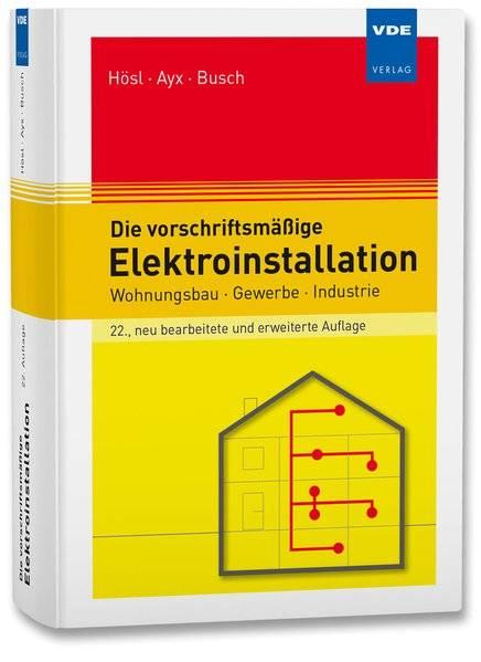 cover_Die_vorschriftsmäßige_Elektroinstallation