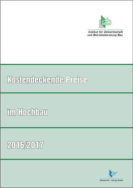 cover_Kostendeckende_Preise_im_Hochbau_2016/2017