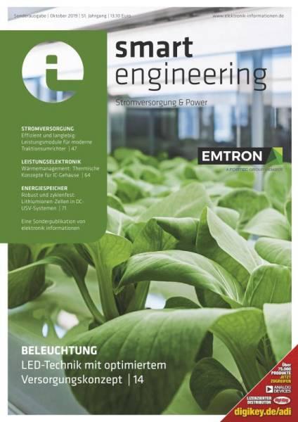 Cover elektronik informationen smart engineering 10/2019