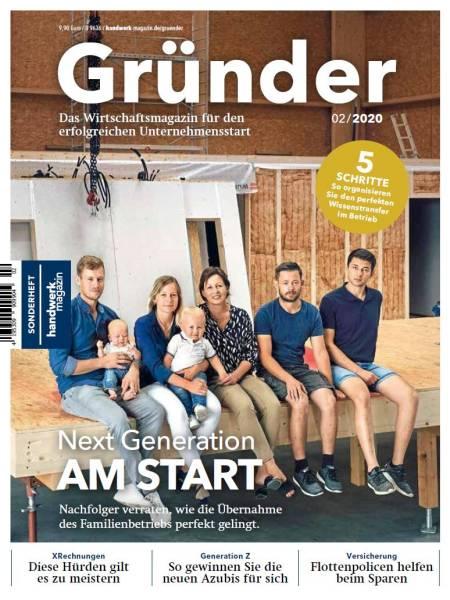 GRÜNDER - Ausgabe 2/2020 - digital