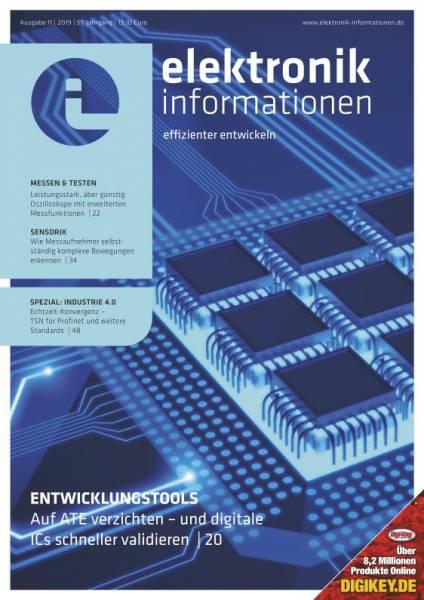 Cover elektronik informationen 11/2019 digital