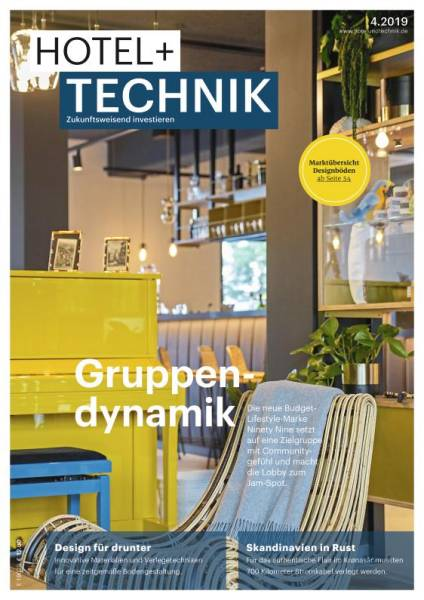 Cover HOTEL+TECHNIK 4/2019 digital