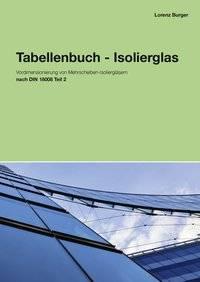Tabellenbuch Isolierglas