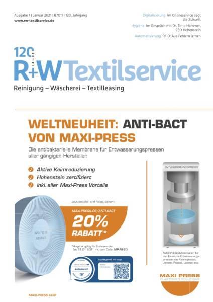 R+WTextilservice - Ausgabe 1/2021 - digital
