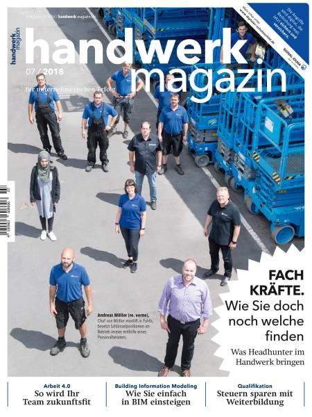 cover_handwerk-magazin_7/2018