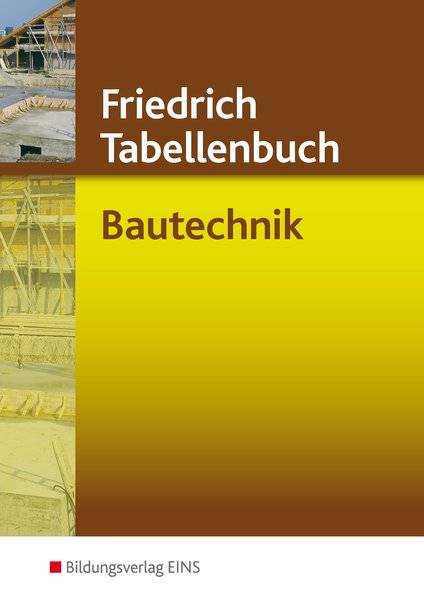 cover_Friedrich_Tabellenbuch_Bautechnik_/_Friedrich_Tabellenbuch