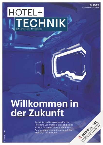 Cover HOTEL+TECHNIK 8/2019