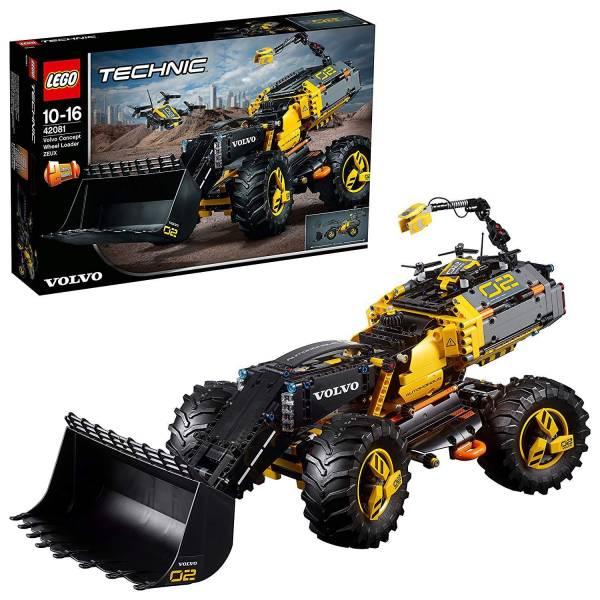 Lego Volvo Konzept-Radlader ZEUX