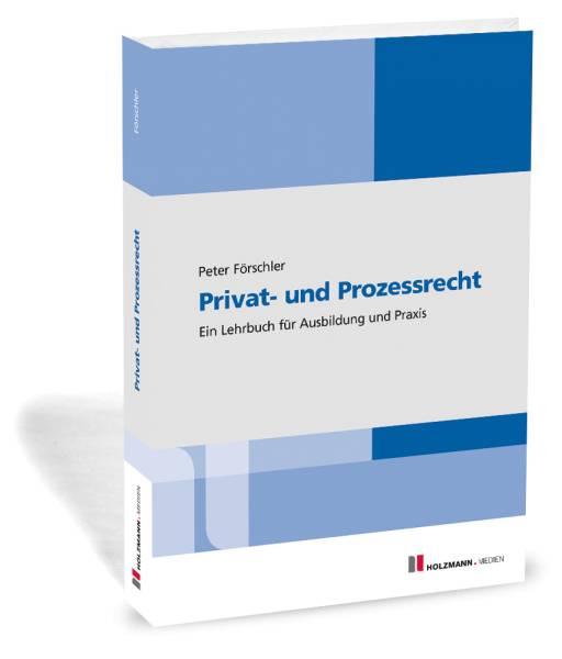 E-Book 'Privat-und Prozessrecht'