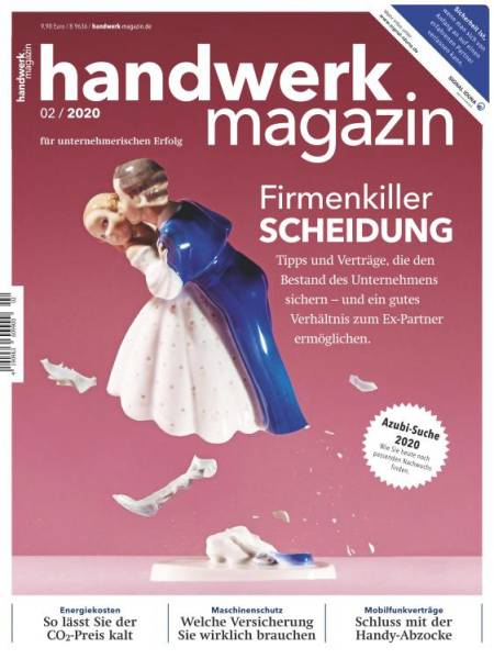 Cover handwerk magazin 2/2020