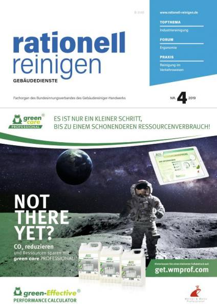 Cover rationell reinigen 4/2019