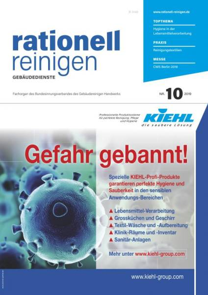 Cover rationell reinigen 10/2019