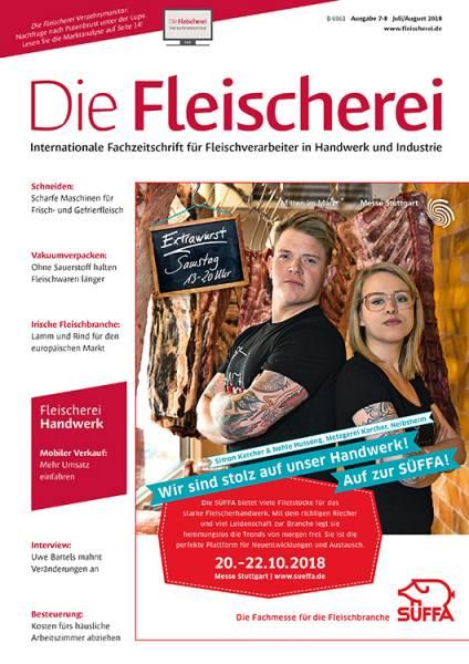 cover_die-fleischerei_7-8/2018