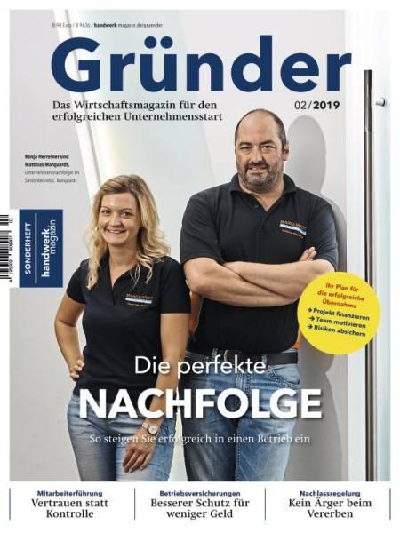 Cover Gründer 2/2019