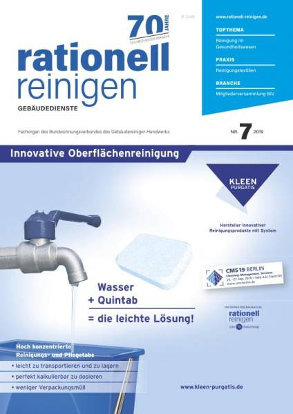 Cover rationell reinigen 7/2019