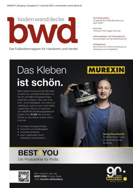 bwd - Ausgabe 6-7/2021