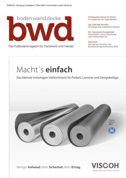 Cover bwd 5/2019