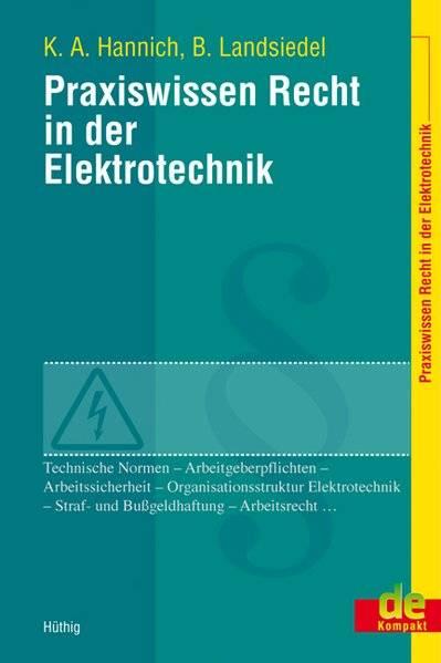 cover_Praxiswissen_Recht_in_der_Elektrotechnik