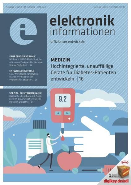 Cover elektronik informationen 12/2019 digital