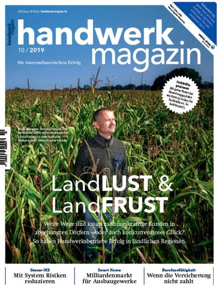 Cover handwerk magazin 10/2019