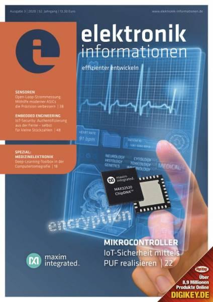 Cover elektronik informationen 3/2020