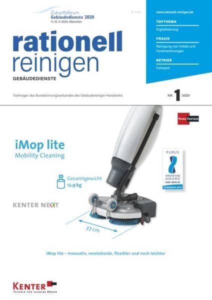 Cover rationell reinigen 1/2020 digital