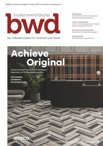Cover bwd 8/2019