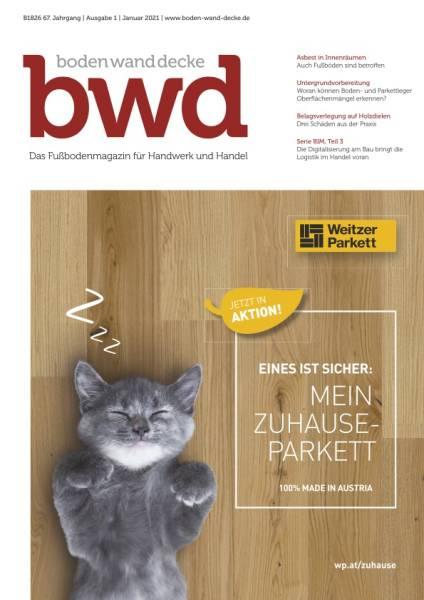 bwd - Ausgabe 1/2021