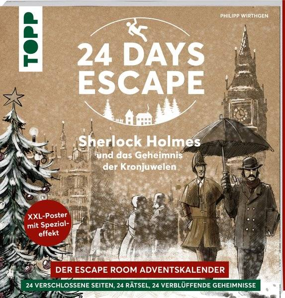 cover_24_DAYS_ESCAPE_–_Der_Escape_Room_Adventskalender:_Sherlock_Holmes_und_das_Geheimnis_der_Kronjuwelen