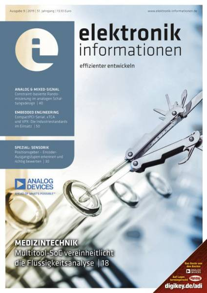 Cover elektronik informationen 9/2019