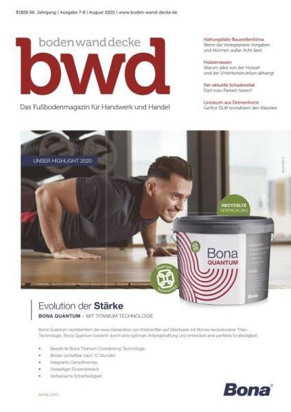 bwd - Ausgabe 07-08/2020