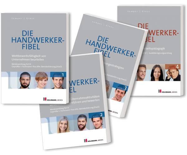 E-Book 'Die Handwerker-Fibel - Band 1 bis 4: Meisterprüfung Teile III + IV'