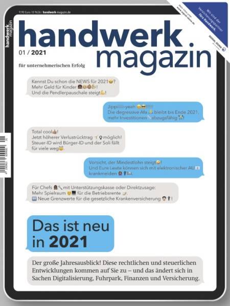 handwerk magazin - Jahresabo mit attraktiver Prämie