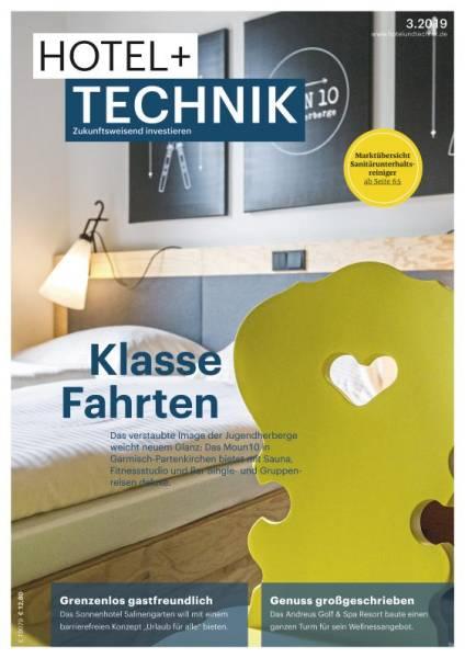 Cover HOTEL+TECHNIK 3/2019