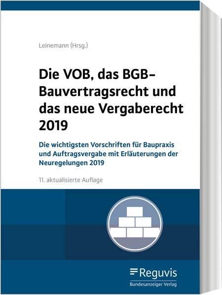 cover_Die_VOB,_das_BGB-Bauvertragsrecht_und_das_neue_Vergaberecht_2019